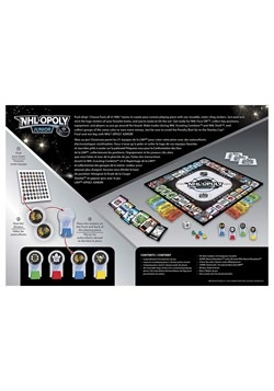 MasterPieces NHL-Opoly Jr Board Game Alt 2