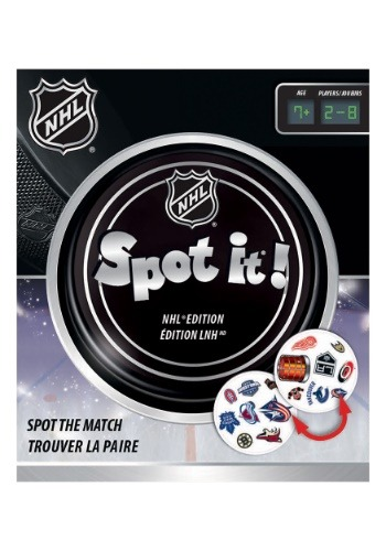 NHL Spot-It! Hockey Card Game