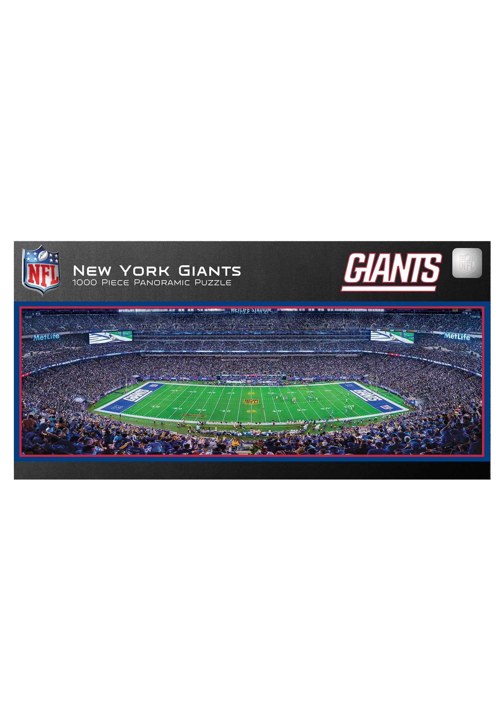 38e08848c48 NFL New York Giants Stadium 1000 Piece Jigsaw Puzzle