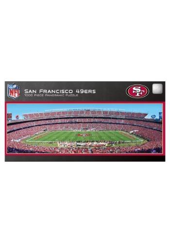 NFL San Francisco 49ers 1000 Piece Stadium Puzzle