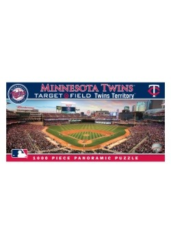 MLB Minnesota Twins 1000 Piece Stadium Puzzle
