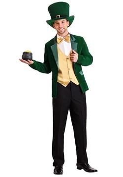 Men's Gold and Green Leprechaun Costume