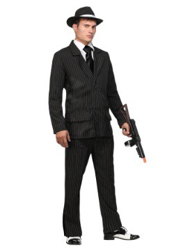 Deluxe Pin Stripe Gangster Suit1