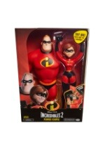 "12"" Feature Mr. Incredible and Elastigirl Action Figures"