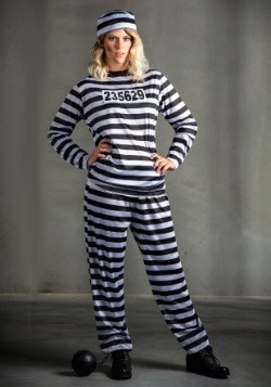 Striped Prisoner Women's Costume-update2