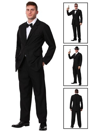 Men's Black Suit Costume Update1