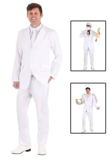 Men's White Costume Suit Update Main