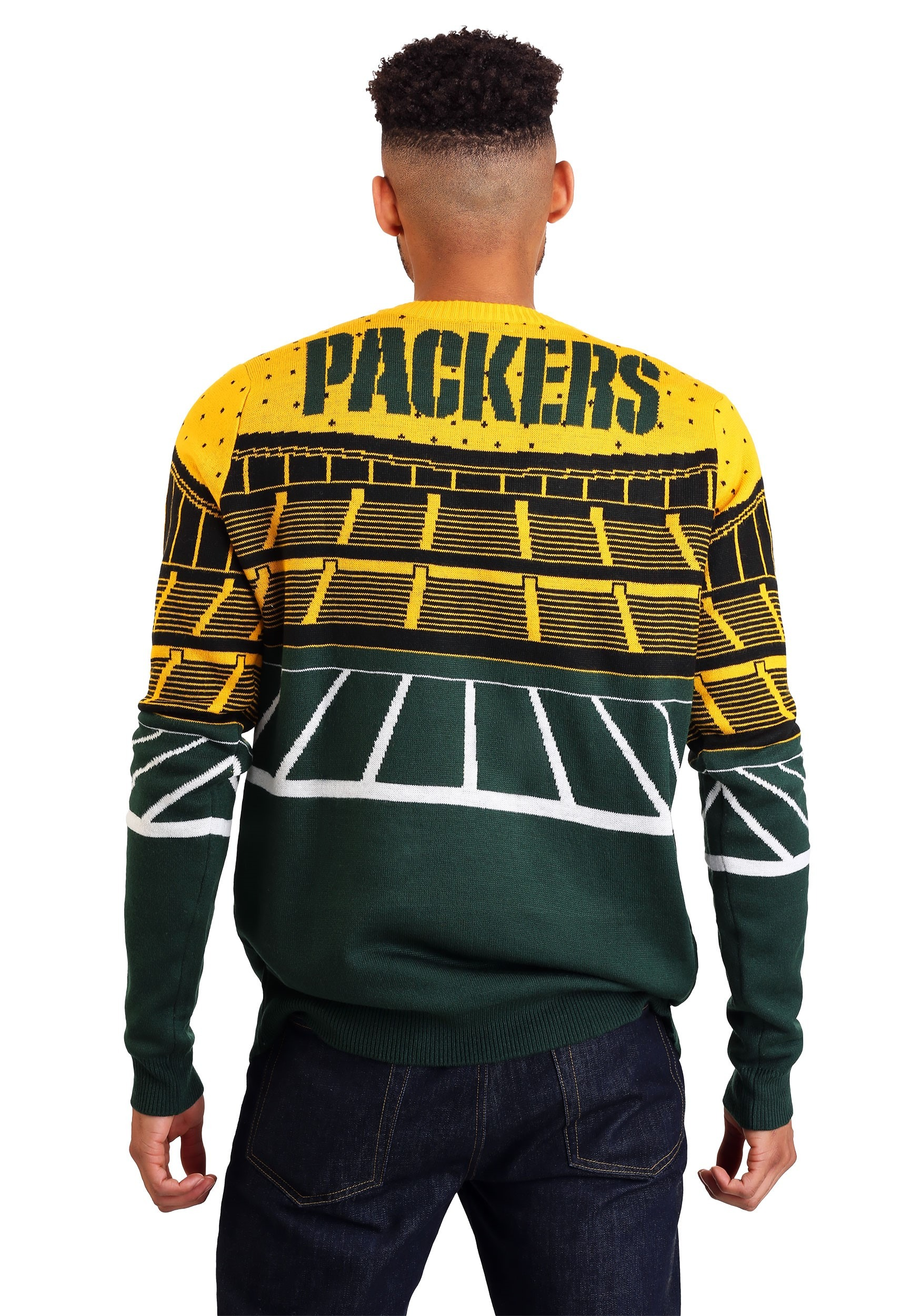 NFL Green Bay Packers Light Up Bluetooth Ugly Christmas ...