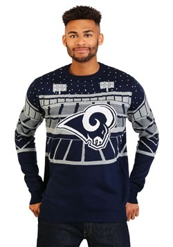 Los Angeles Rams Light Up Bluetooth Ugly Christmas Update Ma