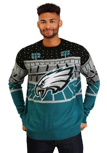 Men's Light Up Bluetooth Philadelphia Eagles Ugly Christmas Sweater
