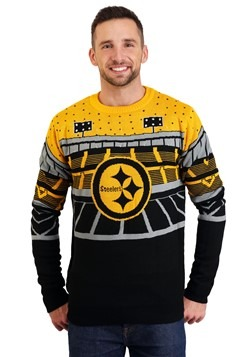 Pittsburgh Steelers Light Up Bluetooth Ugly Christmas Sweate