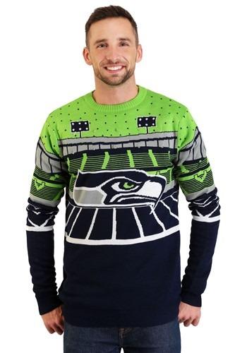 Seattle Seahawks Light Up Bluetooth Ugly Christmas Update Ma