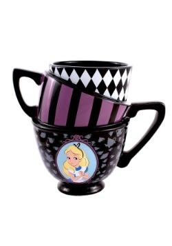 Alice in Wonderland Stacked Teacups Sculpted Mug