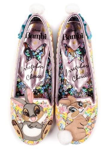 Irregular Choice Women's Bambi Thumper and Miss Bunny Flats