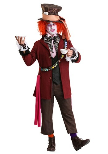 Authentic Mad Hatter Men's Costume Update Main