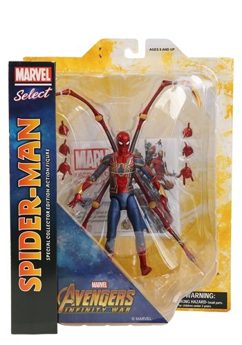Marvel Avengers Infinity War Iron Spider Action Figure