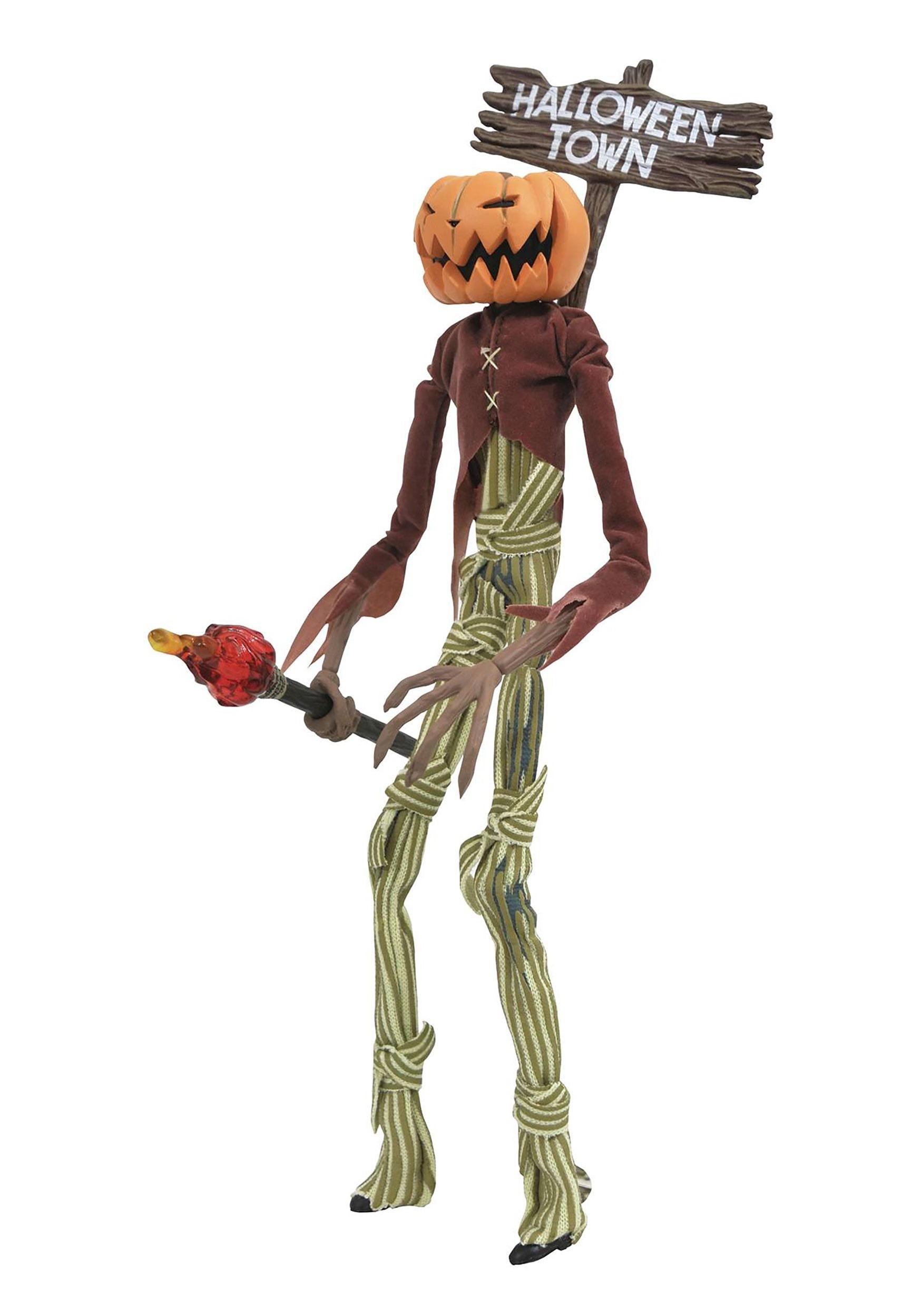 Pumpkin King Jack Nightmare Before Christmas Silver Anniversary Figure