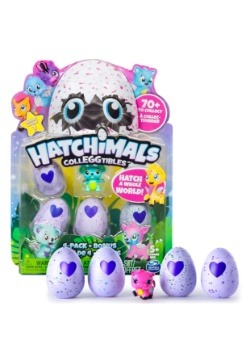 Hatchimals Colleggtibles 4-Pack + Bonus