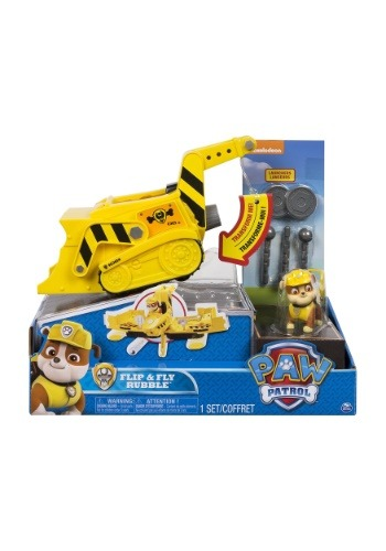 Paw Patrol Flip & Fly Rubble 2-in-1 Transforming Vehicle1