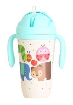 The World of Eric Carle Cup with Flip Top and Straw For Kids