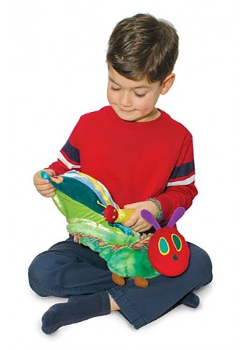 The Very Hungry Caterpillar Reversible Butterfly Plush