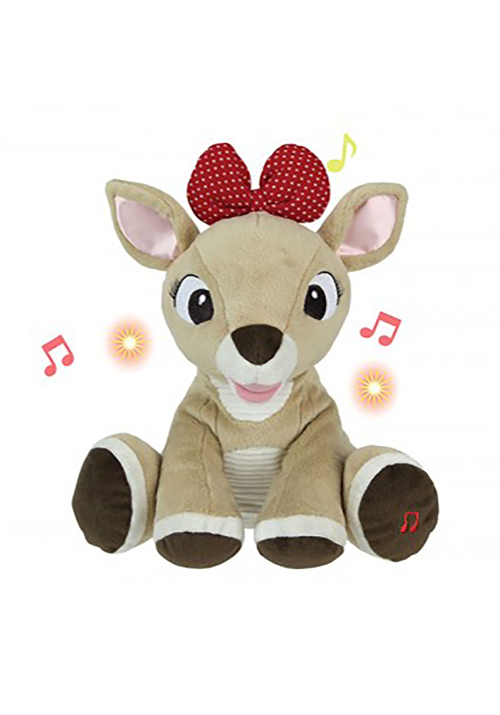 ea3858f97d2ac Clarice Rudolph the Red Nosed Reindeer Plush with Music and Lights