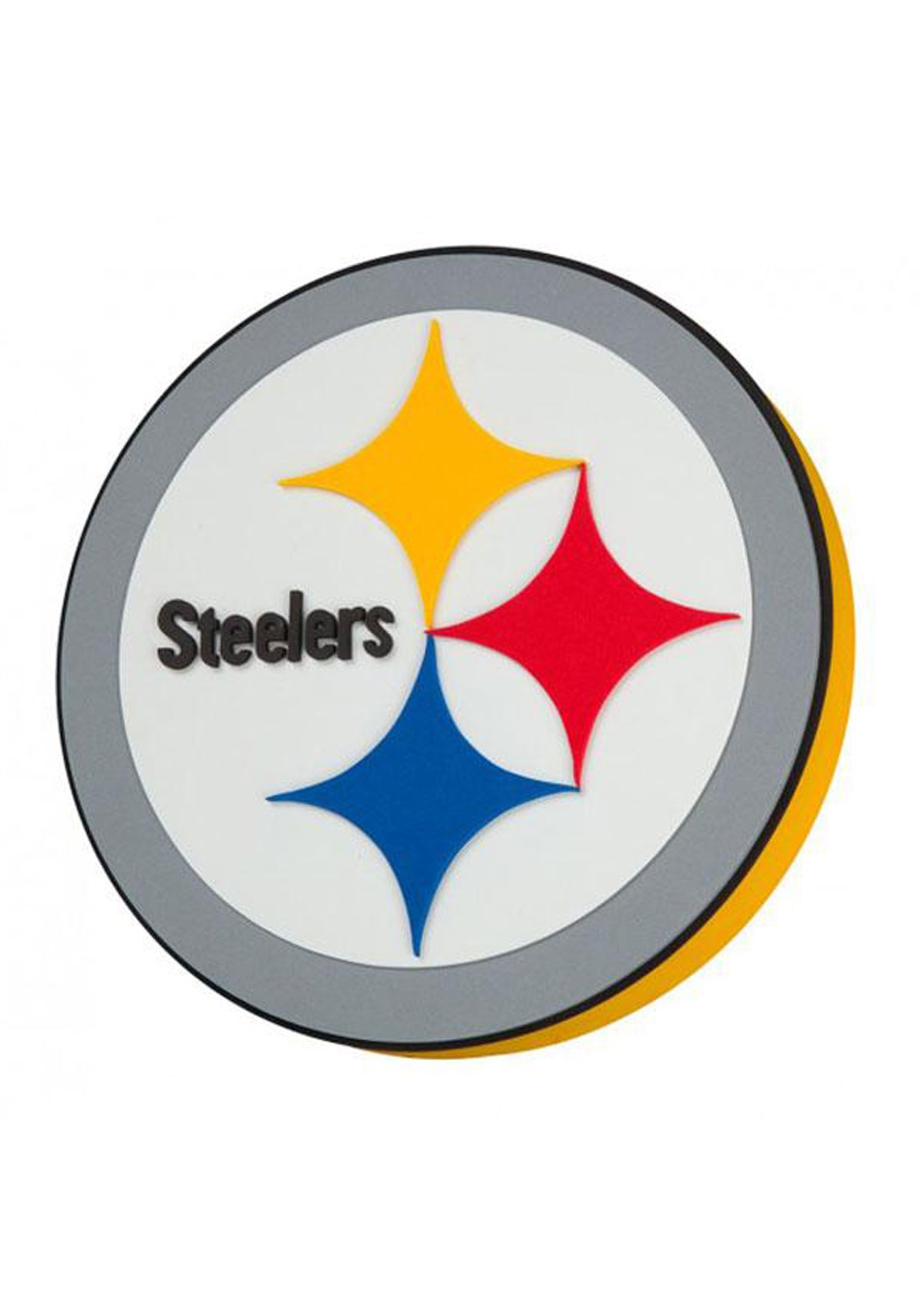 nfl pittsburgh steelers logo foam sign rh fun com pictures of steelers logo Steelers Logo Drawing