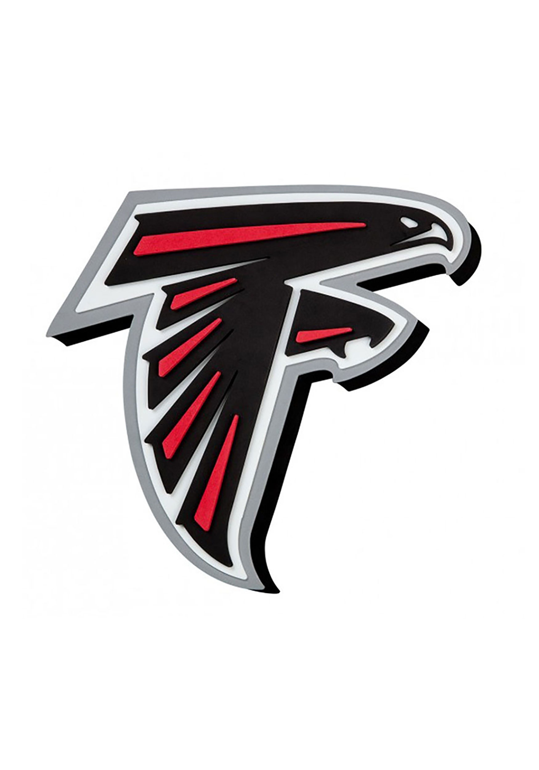 Atlanta Falcons Nfl Logo Foam Sign