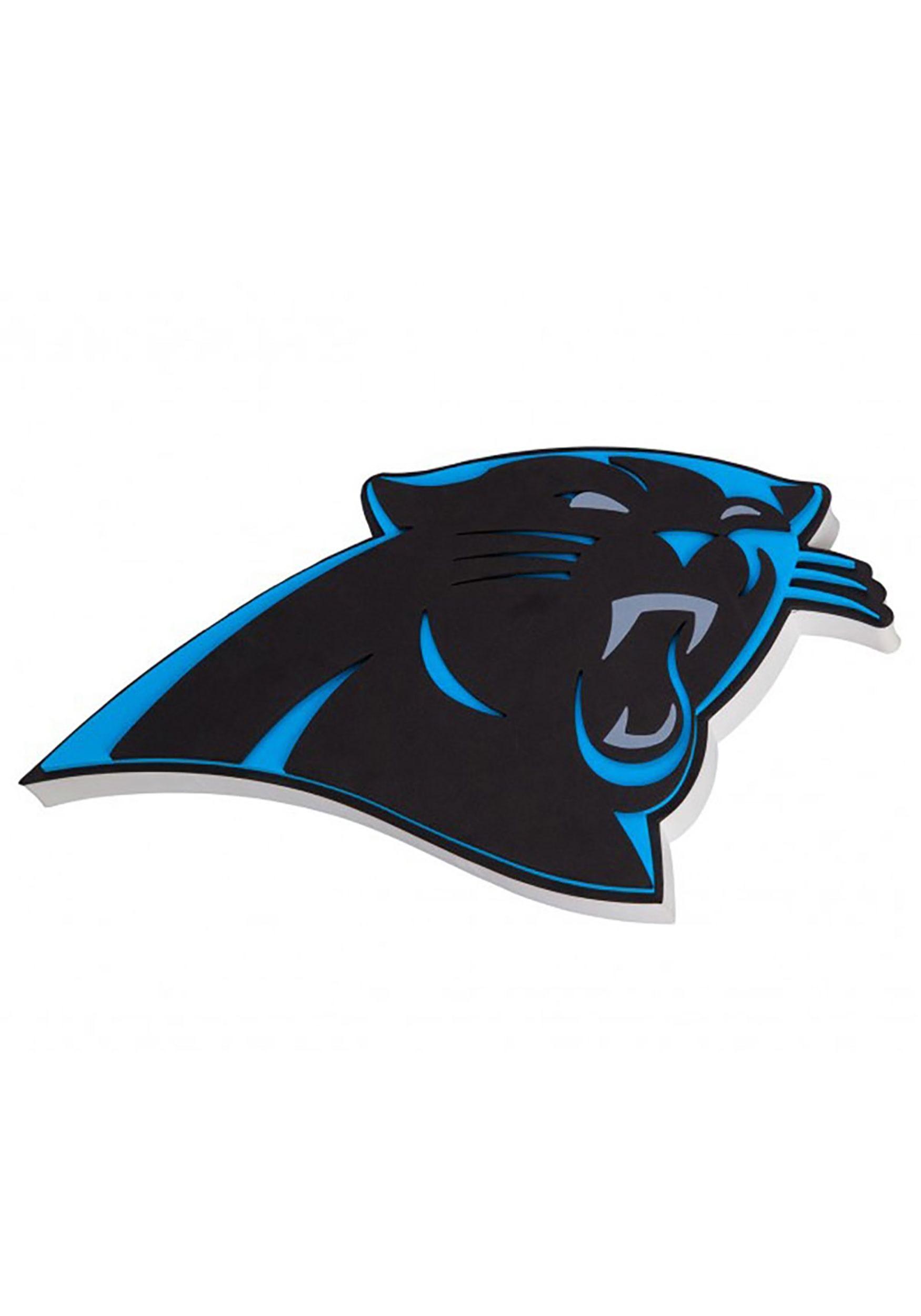 Carolina Panthers Nfl Logo Foam Sign