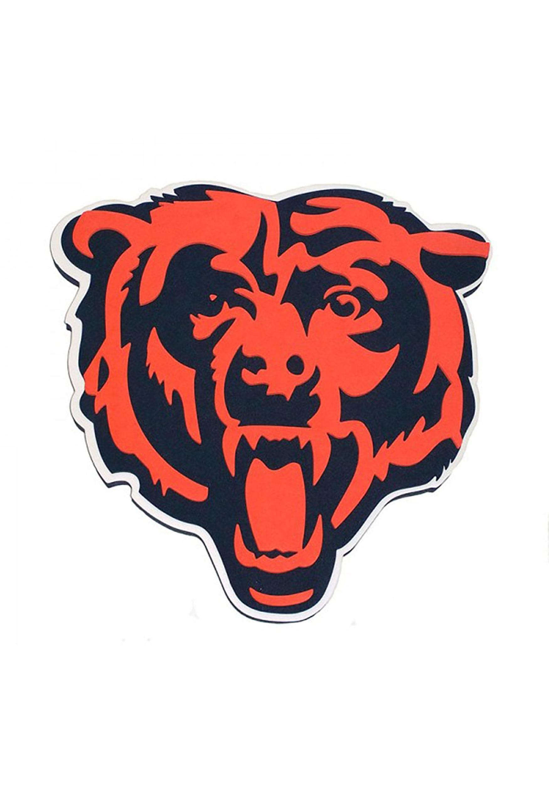 ae1508a4 NFL Chicago Bears Logo Foam Sign