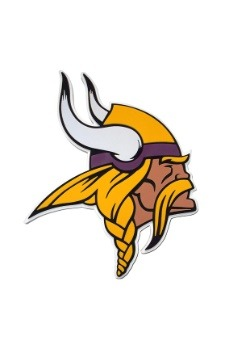 NFL Minnesota Vikings Logo Foam Sign