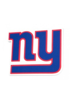 NFL New York Giants Logo Foam Sign
