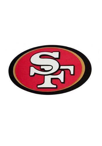 NFL San Francisco 49ers Logo Foam Sign