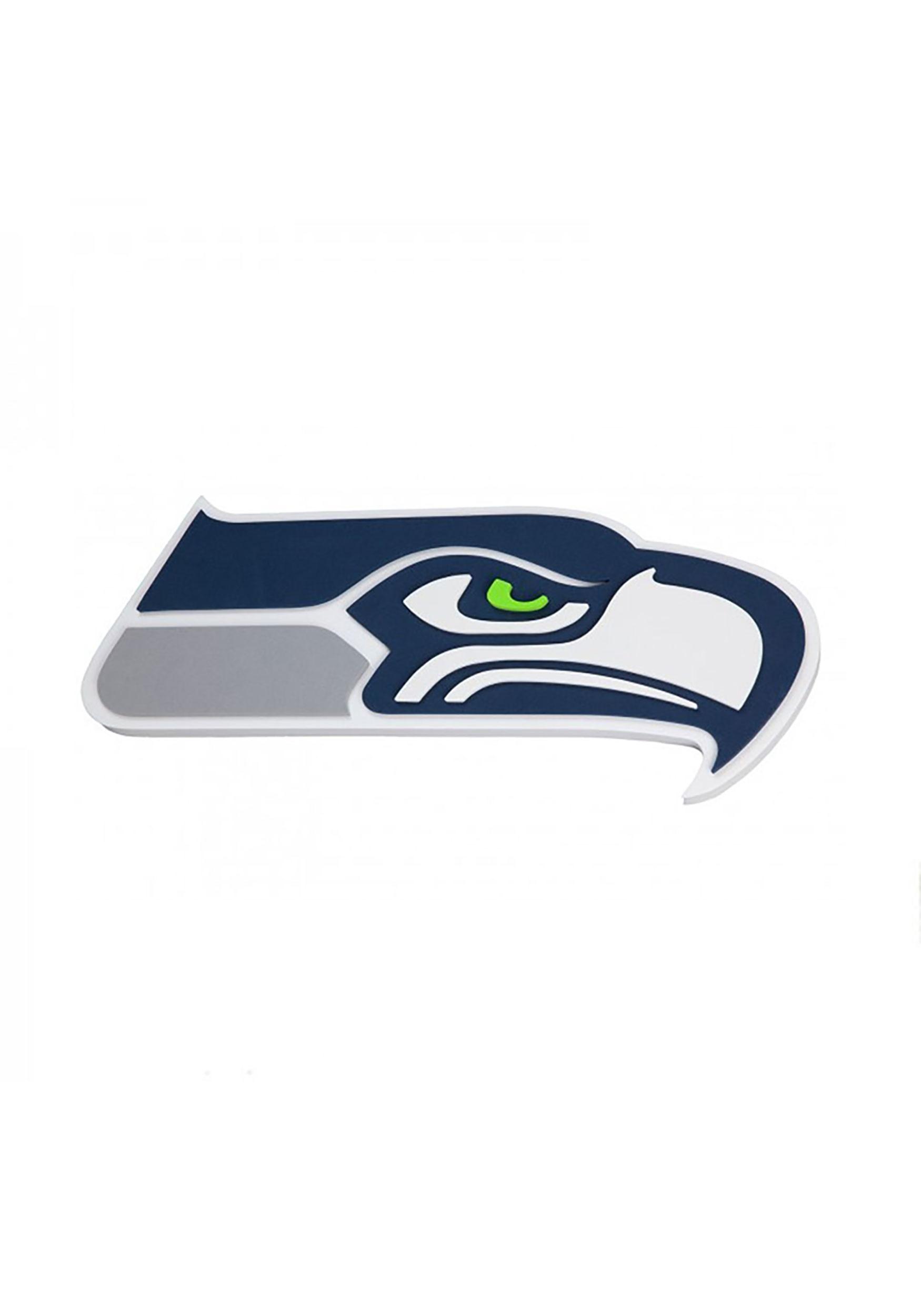 f83067bf4e4 Seattle Seahawks NFL Logo Foam Sign