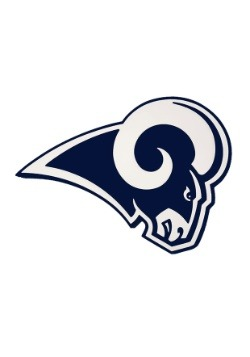 NFL Los Angeles Rams Logo Foam Sign Update1