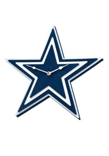 NFL Dallas Cowboys Logo Foam Clock
