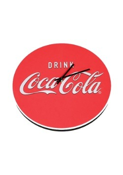 Coca Cola Logo Foam Clock