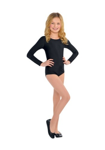 Child Black Bodysuit Costume