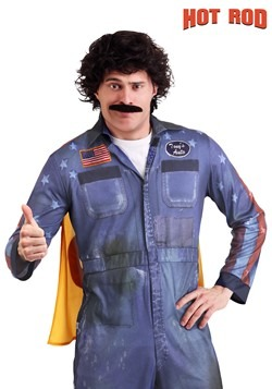 Hot Rod Rod Kimble Wig and Mustache