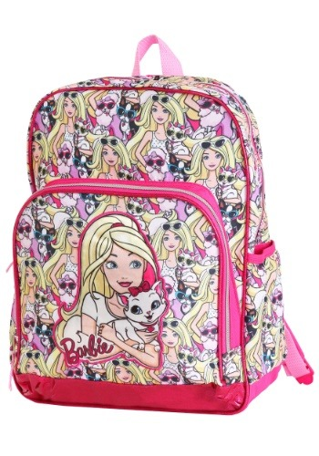 "Image of Barbie 16"" Kids Backpack"