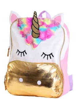 "Kids Despicable Me Fluffy Unicorn 16"" Backpack"