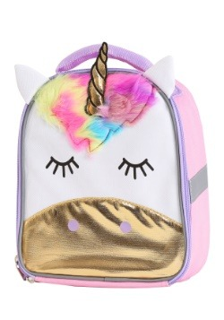 Kids Despicable Me Fluffy Unicorn Lunch Tote