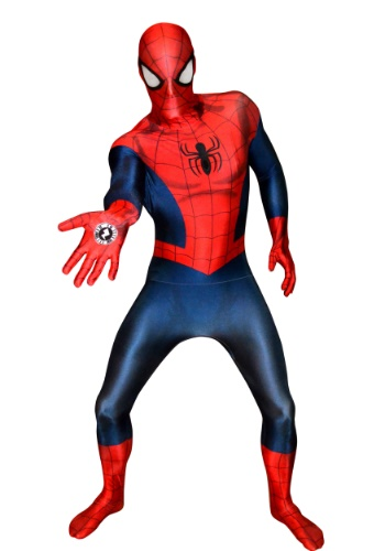 Deluxe Men's Ultimate Spider-Man Morphsuit