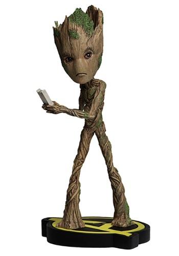Avengers Infinity War Groot Head Knocker Figure