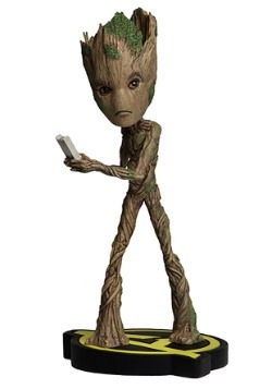 Avengers Infinity War Groot Head Knocker Figure