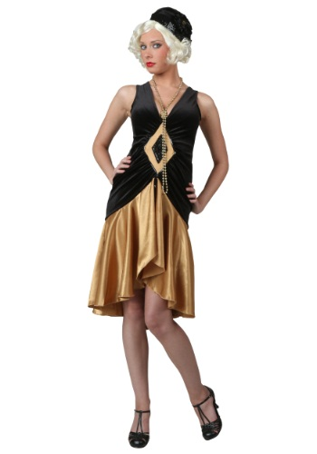 Women's 20's Flapper Plus Size Costume