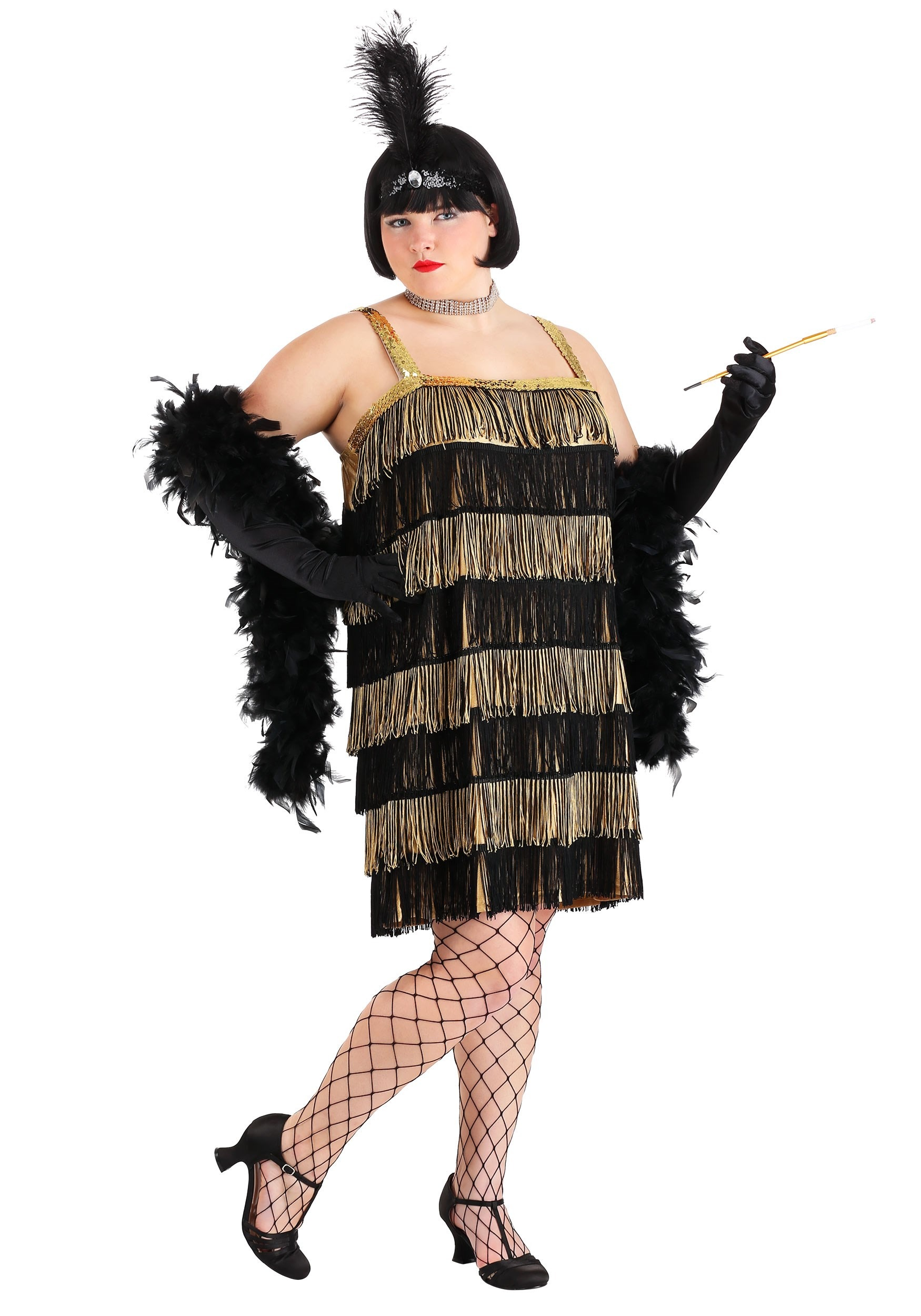 fancy gatsby gold flapper charleston ladies dress itm sentinel womens costume