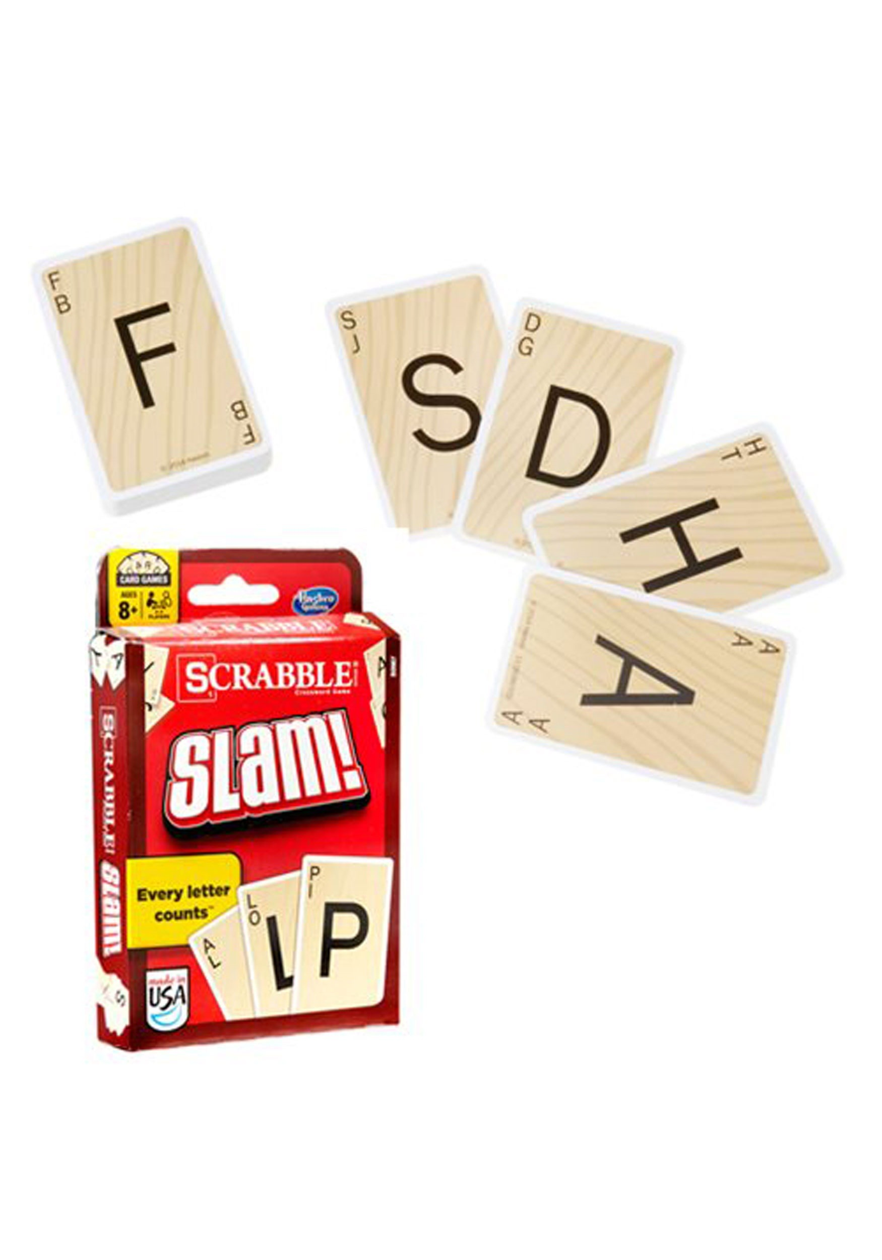 Scrabble Slam Hasbro Card Game