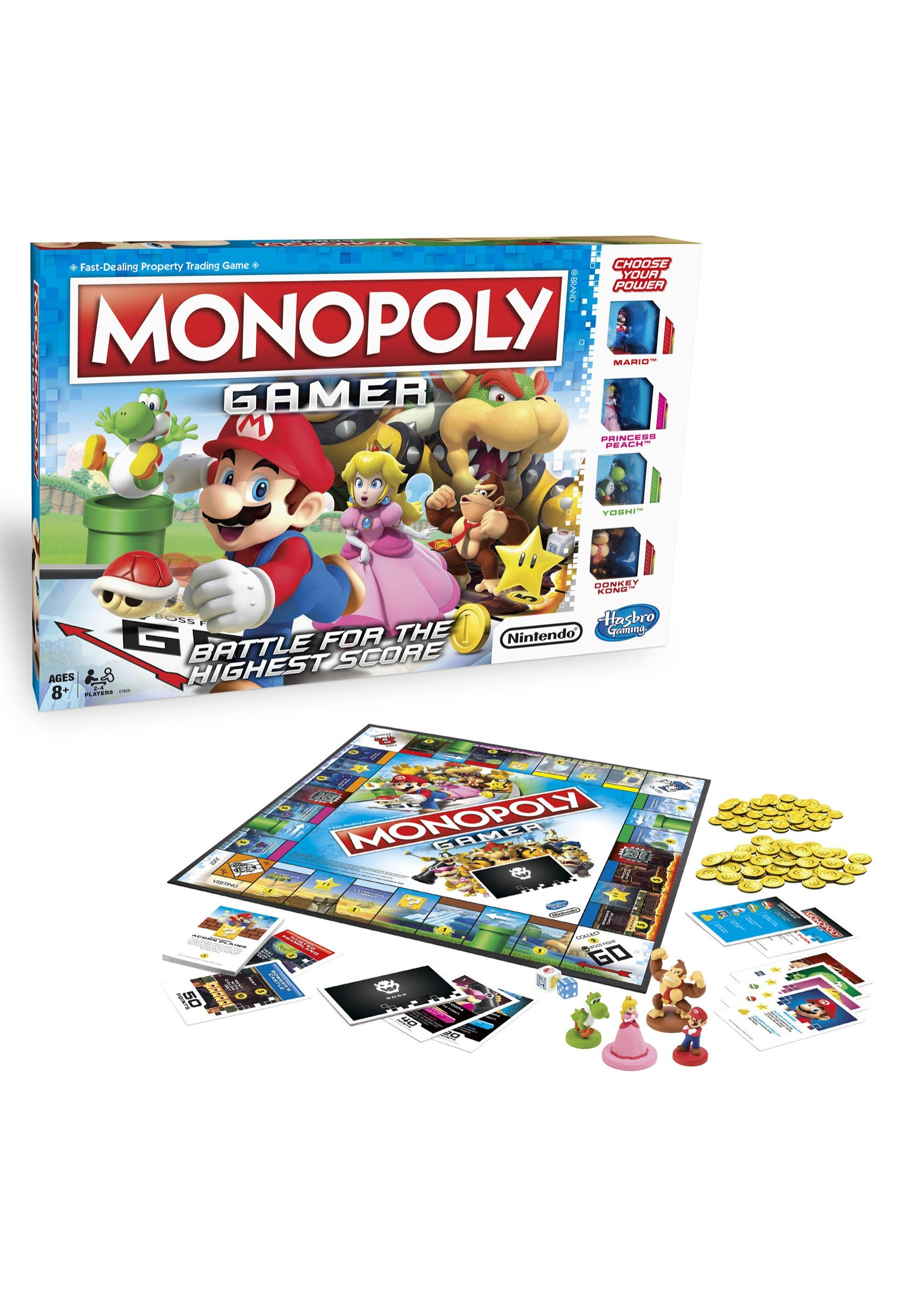 Monopoly Gamer Edition Game- Super Mario Brothers