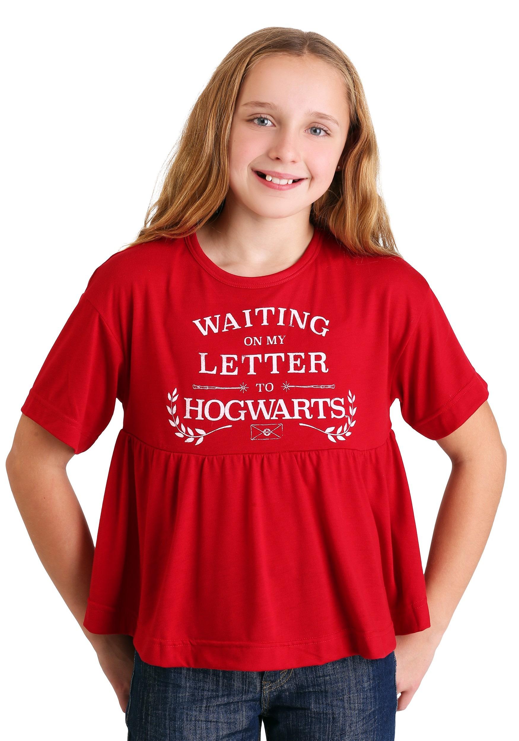 Girls T-shirt Harry Potter